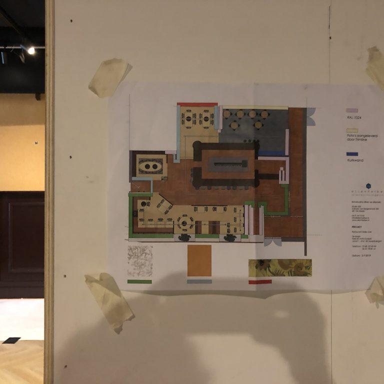 Ellen Herber realisatie bouwtekening